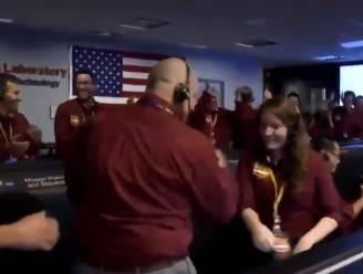 VIDEO. Dit vreugdedansje van NASA-wetenschappers gaat de wereld rond