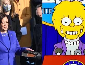 Voorspelden de Simpsons nu ook de inhuldiging van president Biden?