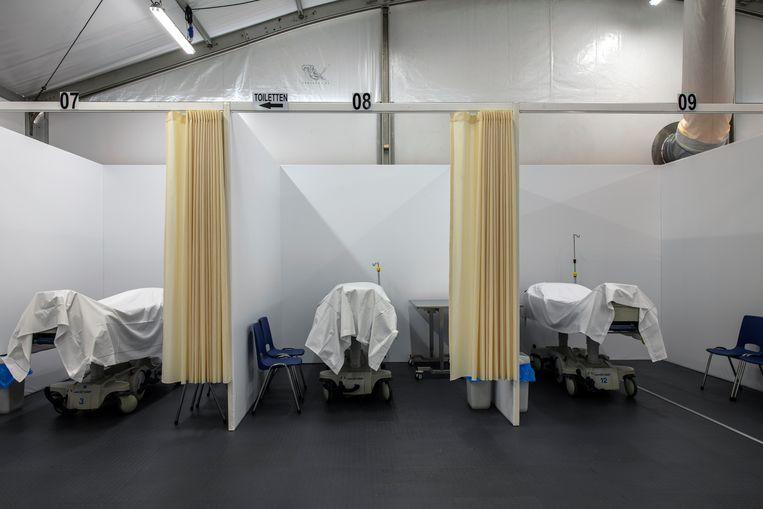Bij het Universitair Medisch Centrum Maastricht is een extra ruimte aangebouwd. Beeld Hunter