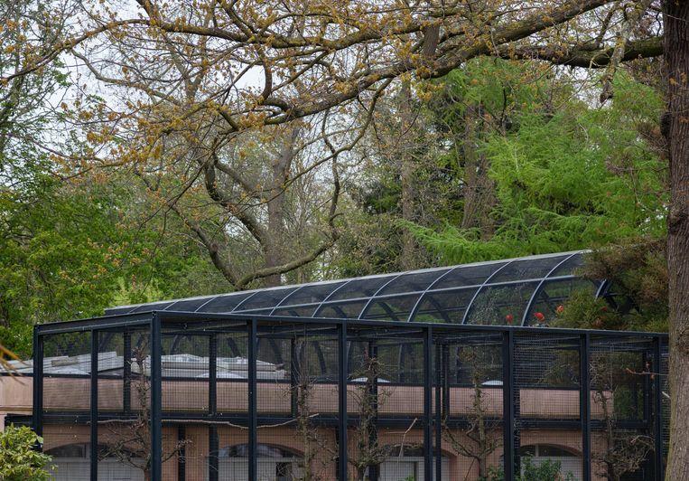 Zaterdag 15 mei vertoefden we eindelijk weer eens in Artis, en wel bij de Rode Ibissen. De Groote Volière, een rijksmonument, is gebouwd rondom een charmant buitenhuisje dat Artis bij de oprichting in 1838 kocht van een zekere J. Masman. Winnaar van het jaarabonnement op Ons Amsterdam is Jasper Naberman. Welke historische plek zoeken we deze week? Inzendingen voor maandag 12:00 uur naar: zoekplaatje@parool.nl Beeld Nina Schollaardt