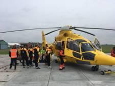 Vliegveld Midden-Zeeland ontvangt eerste helivlucht naar windpark