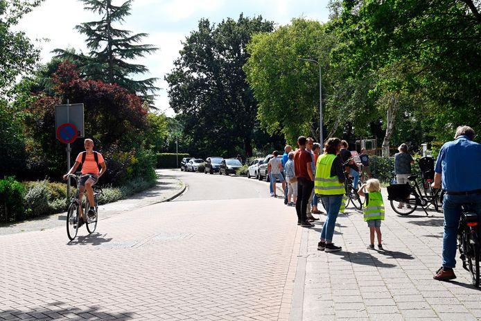De wegen rondom het nieuwe Kindplein-West worden aangepakt (foto Patrijsstraat) met als doel de omgeving verkeersveiliger te maken.