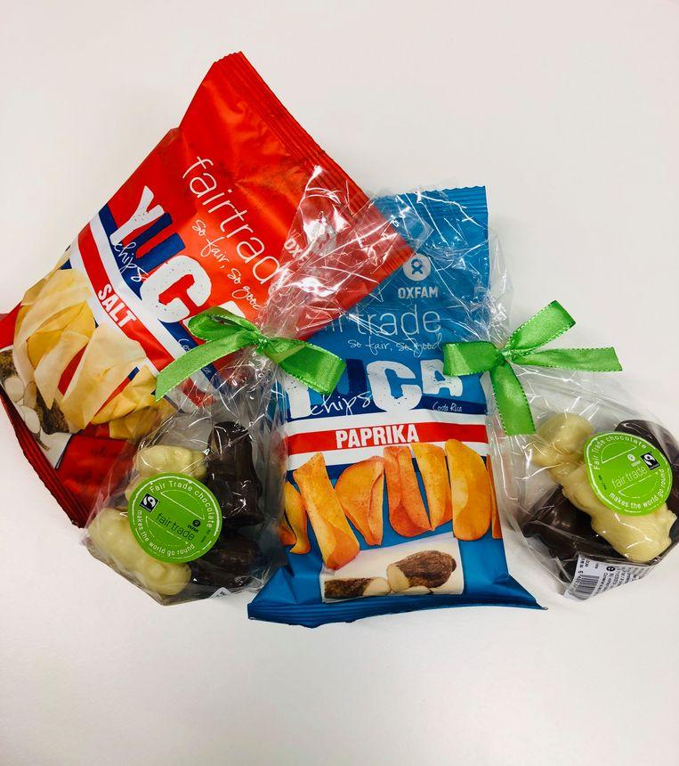 Snoepgoed van de Fairtrade Sint
