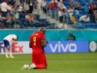 """Huilende Lukaku scoort er twee, en draagt die op aan Inter-ploegmakker Eriksen: """"Z'n kinderen hebben hem nodig, en wij als ploeg ook"""""""