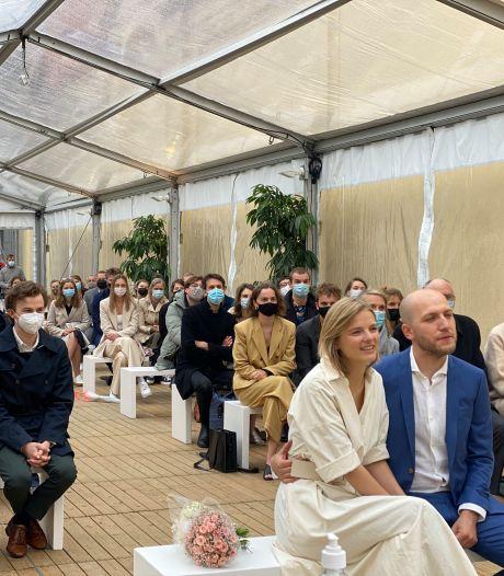 """Huwelijken in openlucht zijn succes: """"Drie op vier koppels kiezen voor die formule"""""""