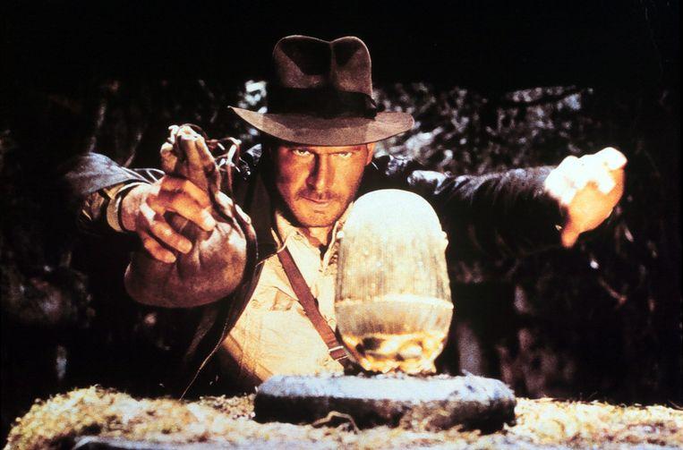 Harrison Ford als Indiana Jones in Raiders of the Lost Ark. Beeld ANP Kippa