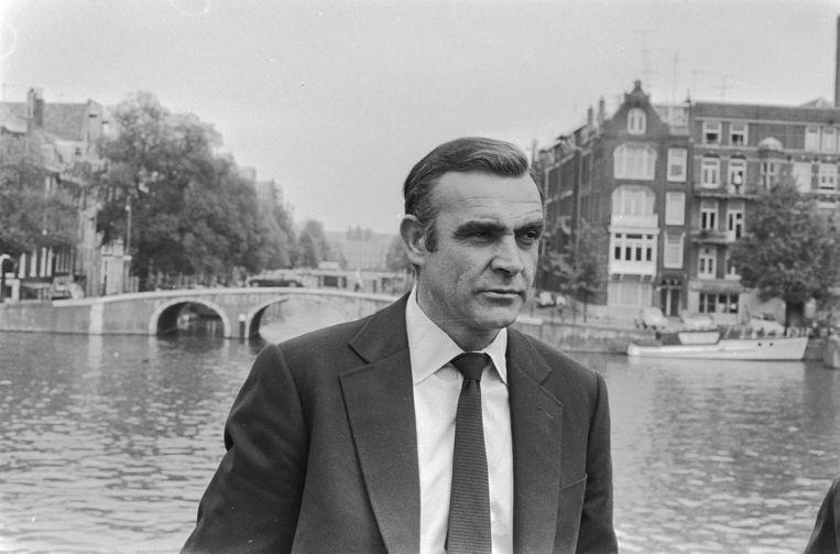 Sean Connery tijdens de opnames van de film 'Diamonds are Forever'. Beeld Mieremet, Rob / Anefo