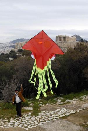 Foto van Gekke Grieken vieren Asmaandag