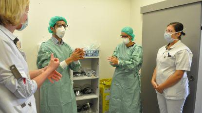 """Burgemeester Ridouani bezoekt Heilig Hartziekenhuis Leuven: """"Diep onder de indruk van ziekenhuispersoneel"""""""