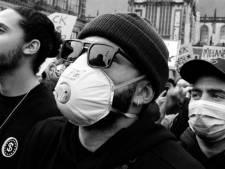 Depay woont ook demonstratie in Rotterdam bij: 'Ik heb een voorbeeldfunctie'