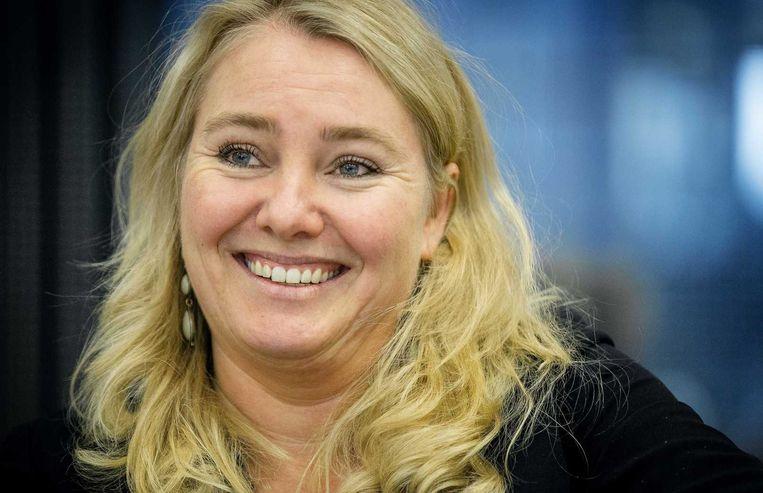 Minister Melanie Schultz van Haegen van Infrastructuur en Milieu. Beeld anp