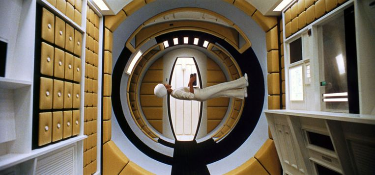 Beeld uit '2001: A Space Odyssey'.  Beeld Collection Christophel