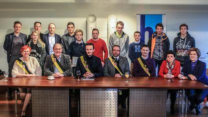 Harelbeke eert kampioenen (en dat zijn er heel wat)