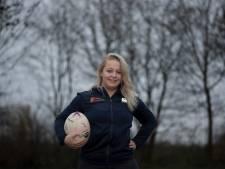 Tielse rugbyster Kendra Jonas (18) debuteert in Nederlands team en droomt van Nieuw-Zeeland