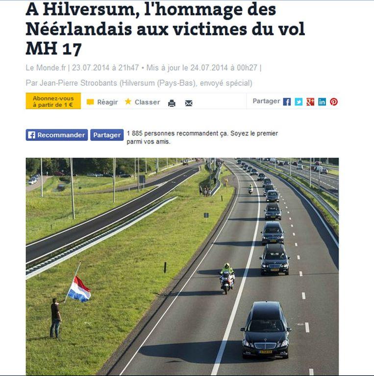 null Beeld Printscreen Le Monde