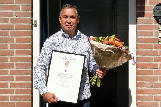 George Koster Lintjesregen 2020 Etten-Leur