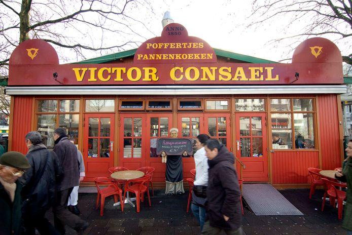 In het verleden stond er jarenlang een poffertjeskraam op het Vredenburg in Utrecht.