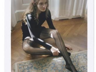 Vaarwel blote benen, panty's met patroon zijn helemaal terug