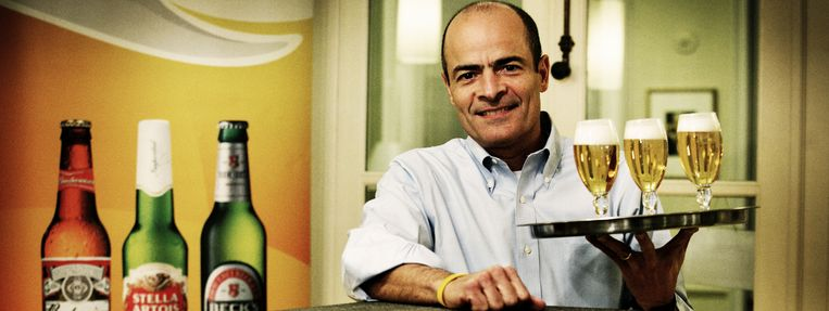 Inbev-CEO Carlos Brito. Beeld tim dirven