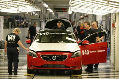 Laatste Volvo V40 rolt van de band in Gent