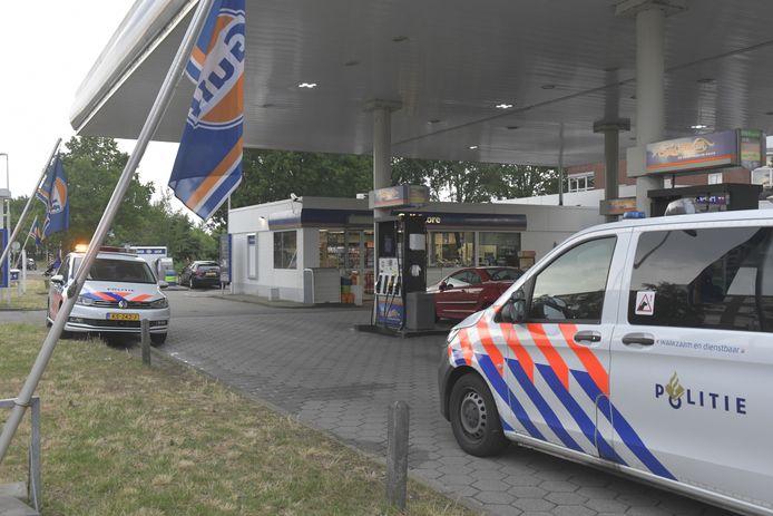 Overval bij tankstation Gulp aan Houtwijklaan in Den Haag