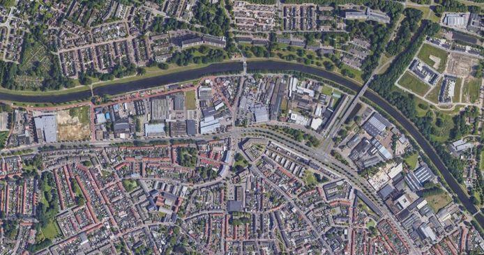 Kanaalzone I, de strook bedrijventerreinen tussen de Ringbaan-Noord en het Wilhelminakanaal.