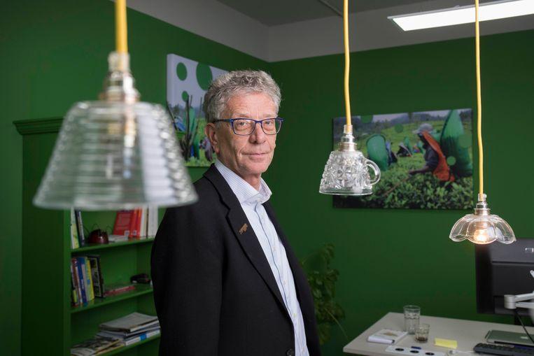 Nico Roozen, bedenker van de Max Havelaar-koffie en oprichter van Solidaridad. Beeld Werry Crone