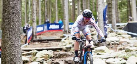 Apeldoornse mountainbikester Anne Terpstra ontspannen, maar zelfverzekerd naar wereldbeker