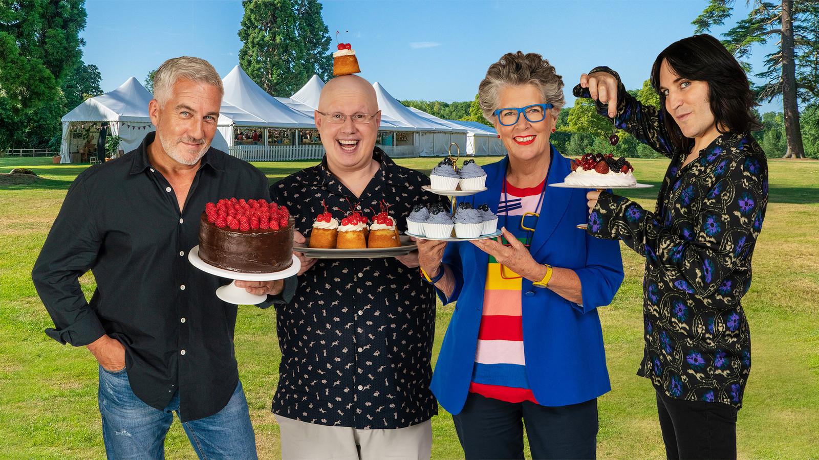 The Great British Bake Off is vanavond te zien op NPO 1.