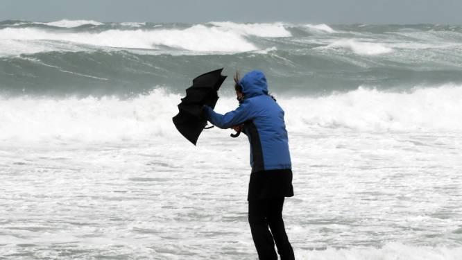 We hebben officieel een storm: windstoten tot 90 per uur mogelijk, telefoonnummer 1722 geactiveerd