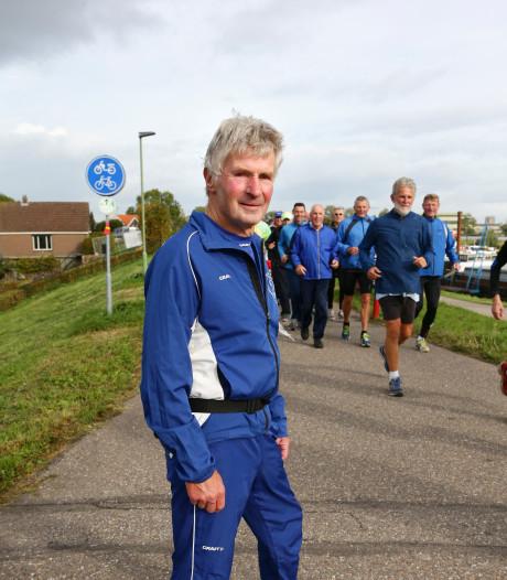 Sleeuwijker gaf meer dan 2000 hardlooptrainingen bij Typhoon en wordt eerste erelid
