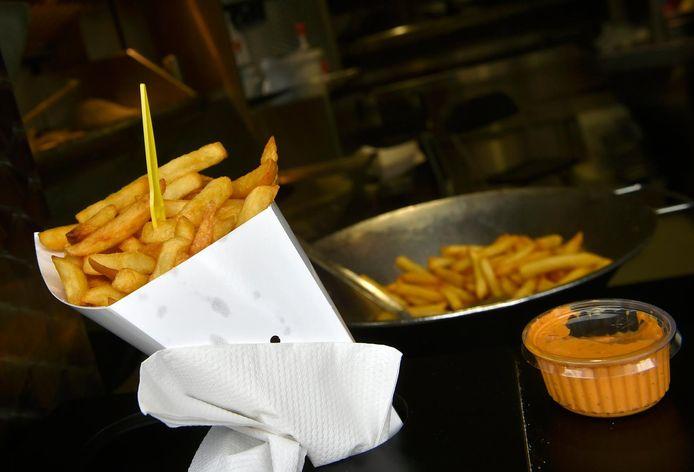 Manger des frites chaque jour n'est pas vraiment conseillé.