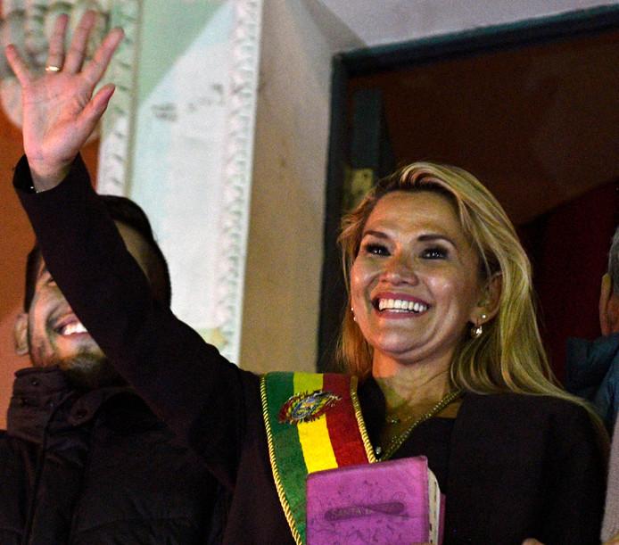Jeanine Áñez .