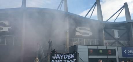 Massale stille tocht voor verongelukte Jayden (12): 'Alle meisjes waren verliefd op hem'