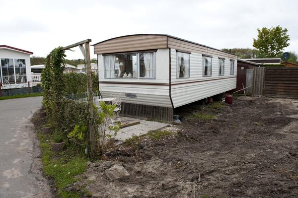 Zeshonderd stacaravans telt camping Duinrand.