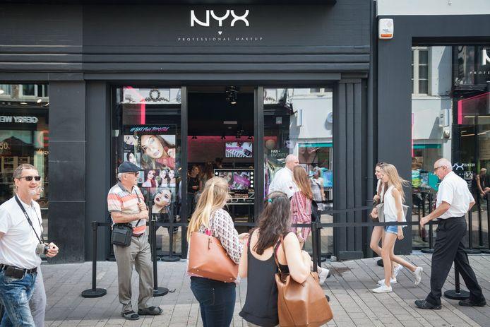 La boutique NYX à Gand.