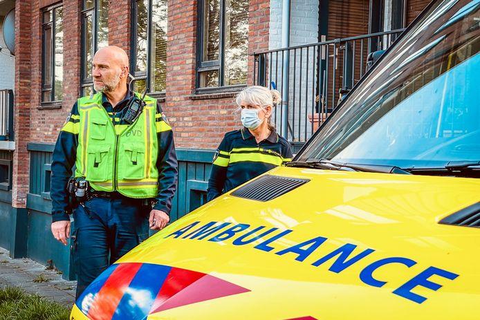 Het jongetje is naar het ziekenhuis gebracht.