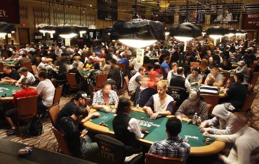 Honderden WSOP-deelnemers in het Rio Casino