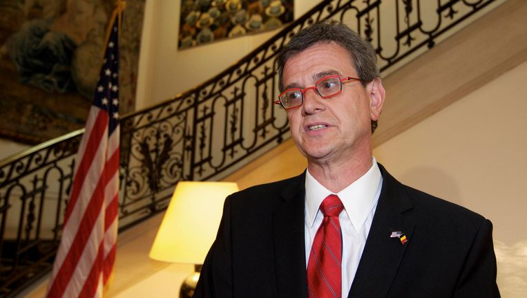 Howard Gutman, de Amerikaanse ambassadeur in België, ligt onder vuur bij Newt Gringrich door een vermeend 'antisemitische' uitspraak. Beeld BELGA