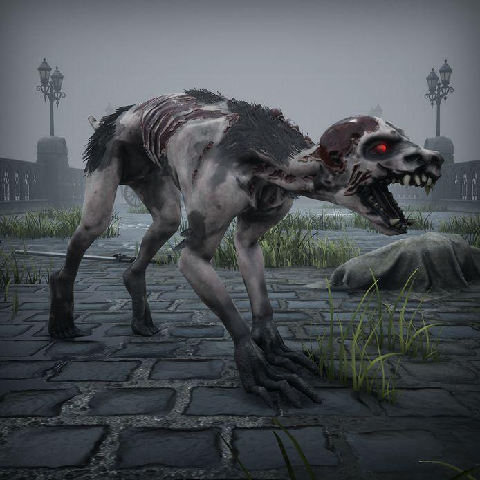 Nog een 'Black Legend'-vijand: Old Red Eyes, a.k.a. Het Beest van Vlaanderen.