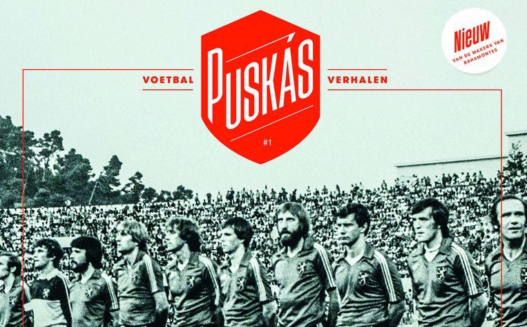 De cover van Puskás. Beeld rv