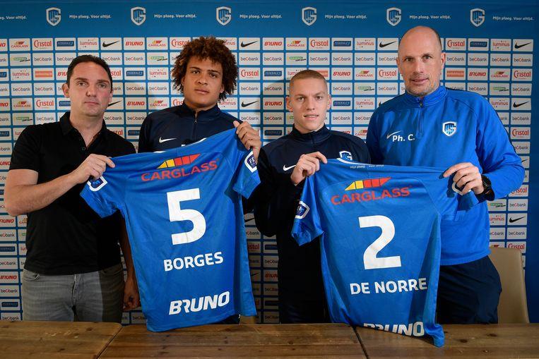 Racing Genk haalde Neto Borges en Casper De Norre.
