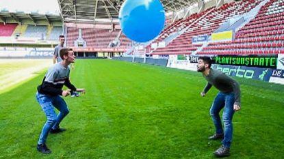 Essevee breekt wereldrecord zitbal-koppen