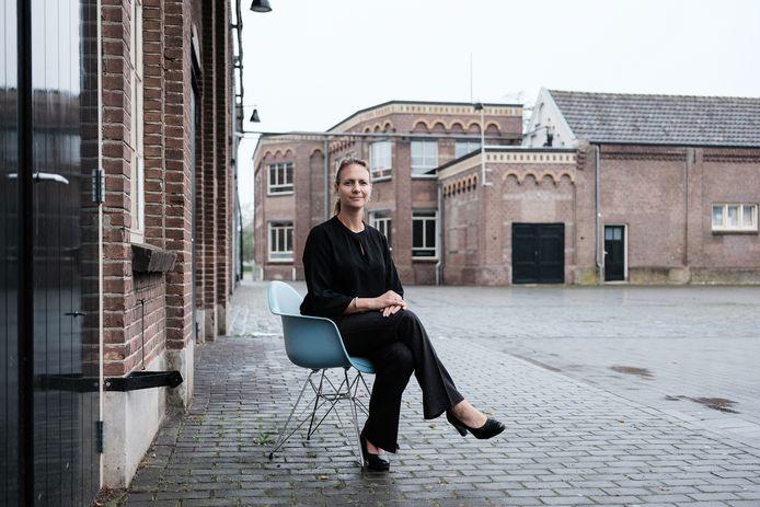 Directeur Juliette Hofman op het DRU Industriepark in Ulft.