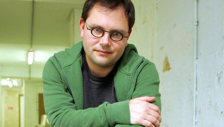 Onder andere schrijver Tom Naegels vond onderdak bij De Bezige Bij Antwerpen. Beeld PHOTO_NEWS