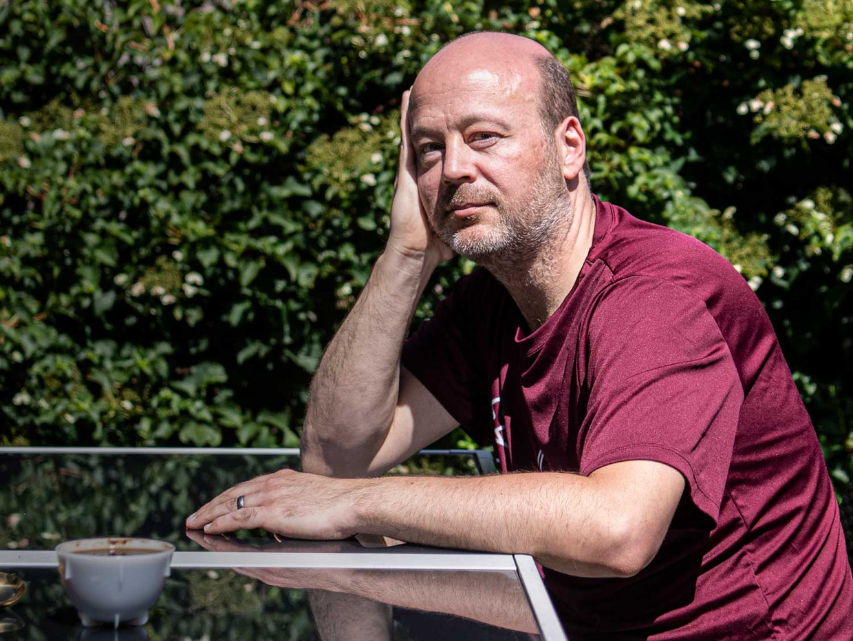 Zal Norman Mazel ooit weer mee kunnen doen aan het Nederlands kampioenschap koffieproeven? Beeld Koen Verheijden