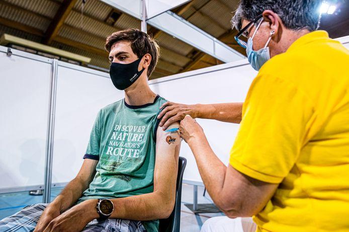 Een vaccinatielocatie van de GGD. Foto ter illustratie.