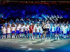 Rotterdamse kinderen vertederen volgepakt Ahoy bij tennisfinale: 'Optreden ging de wereld over'