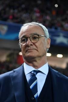 Leicester City stuurt succescoach Ranieri de laan uit