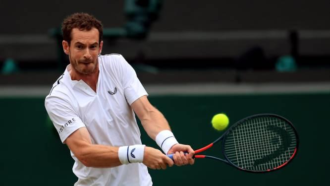 Andy Murray voor het eerst sinds 2017 weer te bewonderen op Wimbledon